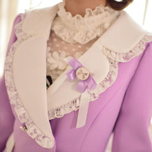 Load image into Gallery viewer, S/M/L Purple Elegant Coat SP153620 - SpreePicky  - 6