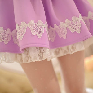 S/M/L Purple Elegant Skirt SP153621 - SpreePicky  - 5