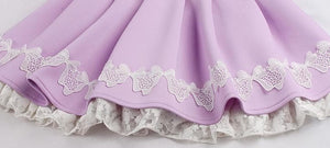 S/M/L Purple Elegant Skirt SP153621 - SpreePicky  - 9