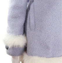 Load image into Gallery viewer, S/M/L [Reservation]Light Blue/Pink Winter Fluffy Fleece Coat SP154413