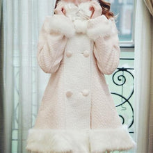 Load image into Gallery viewer, S/M/L [Reservation]Light Blue/Pink Winter Fluffy Fleece Coat SP154413 - SpreePicky  - 7