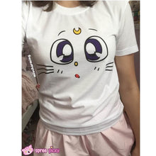 Load image into Gallery viewer, S/M/L Sailor Moon Artimes T-shirt SP152232 - SpreePicky  - 3