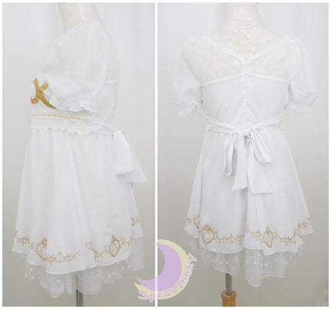 S/M/L Sailor Moon Princess Serenity Short Dress SP141125 - SpreePicky  - 6