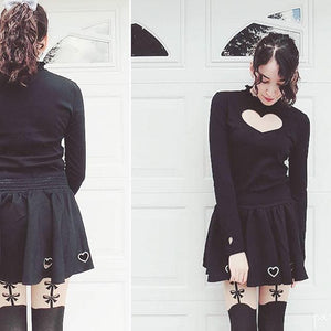 S/M/L Steal My Heart Skirt SP152257 - SpreePicky  - 3