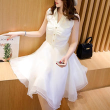 Load image into Gallery viewer, S/M/L Sweet OL Sleeveless Dress SP152621 - SpreePicky FreeShipping