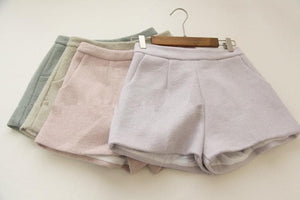 S/M 4 Colors Candy Winter Shorts SP154677 - SpreePicky  - 3