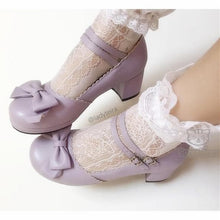 Load image into Gallery viewer, Princess Style Thick Heel Lolita Shoes SP140490