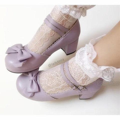 Princess Style Thick Heel Lolita Shoes SP140490