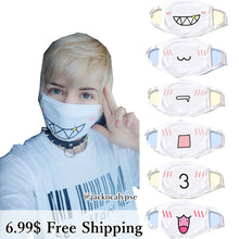 Load image into Gallery viewer, 13 designs Emoji Emoticons Face Dust Mask SP141360 - SpreePicky  - 2