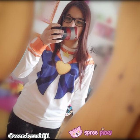 [Spree Picky Design] Sailor Moon Series Sweatershirt - SpreePicky  - 6