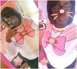 [S-XL]Sailor Chibi Moon Fleece Jumper Top SP141185 - SpreePicky  - 7