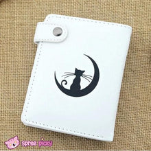 Load image into Gallery viewer, Sailor Moon Artemis White Kitten PU Leather Wallet SP151941 - SpreePicky  - 2