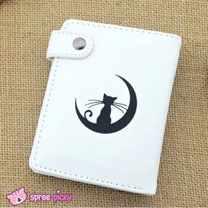 Sailor Moon Artemis White Kitten PU Leather Wallet SP151941 - SpreePicky  - 2