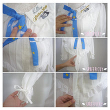 Load image into Gallery viewer, Sailor Moon Blouse Embroidery Printing Top With Bow SP140940 - SpreePicky  - 4