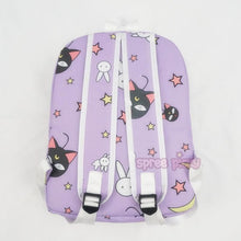 Load image into Gallery viewer, Sailor Moon Usagi Bunny Pattern Elements Purple Backpack SP164974