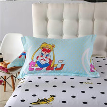 Load image into Gallery viewer, Sailor Moon Chibi Luna Bedding 4 Pieces Set SP179227