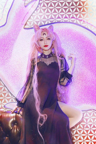 Custom Made Sailor Moon Black Lady Cosplay Dress SP167801