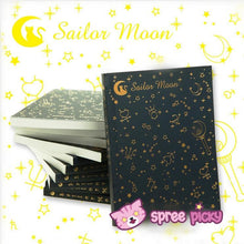 Load image into Gallery viewer, Sailor Moon Crystal Magic Power Blank Notebook SP153012 - SpreePicky  - 1