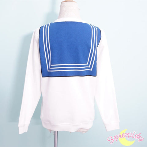 [Sailor Moon Crystal] Manga Version Bow Fleece Jumper SP151633 - SpreePicky  - 4