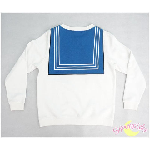 [Sailor Moon Crystal] Manga Version Bow Fleece Jumper SP151633 - SpreePicky  - 2