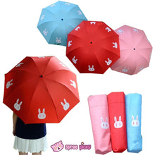 Load image into Gallery viewer, [3 Colors] Sailor Moon Crystal Usagi Bunny 3 Folding Umbrella SP151637 - SpreePicky  - 1