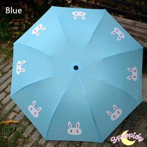 [3 Colors] Sailor Moon Crystal Usagi Bunny 3 Folding Umbrella SP151637 - SpreePicky  - 3