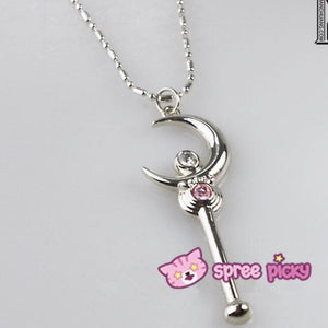 [Sailor Moon] Cutie Moon Stick Necklace/Key Chain SP154449 - SpreePicky  - 4
