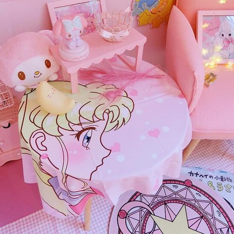 Sailor Moon Dossal Table Cover SP1711511