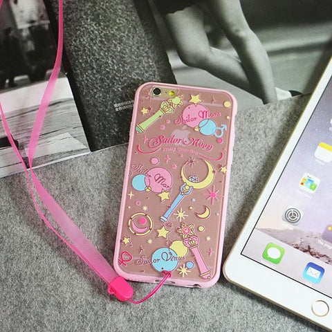 Sailor Moon Elements iphone Phone case SP153040 - SpreePicky  - 2
