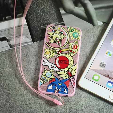 Sailor Moon Elements iphone Phone case SP153040 - SpreePicky  - 4