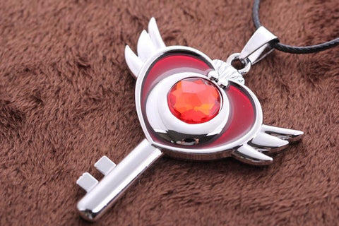 Sailor Moon Flying Moon Necklace SP152816 - SpreePicky  - 4