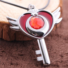 Load image into Gallery viewer, Sailor Moon Flying Moon Necklace SP152816 - SpreePicky  - 3