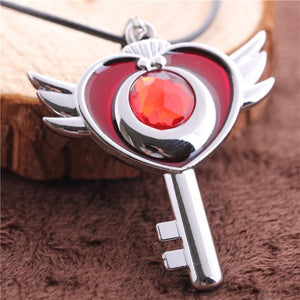 Sailor Moon Flying Moon Necklace SP152816 - SpreePicky  - 3