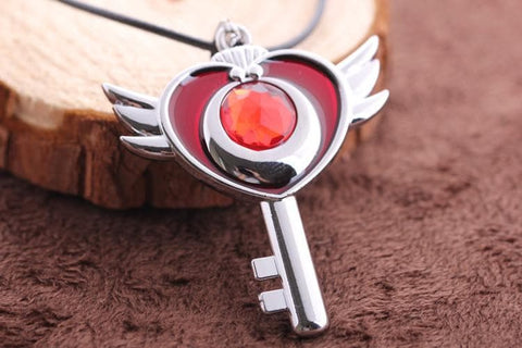 Sailor Moon Flying Moon Necklace SP152816 - SpreePicky  - 2