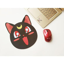 Load image into Gallery viewer, Sailor Moon Happy Luna/Shiba Inu/Hamster Mouse Pad SP1711417
