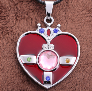[Sailor Moon] Heart Brooch Necklace SP152761 - SpreePicky  - 5