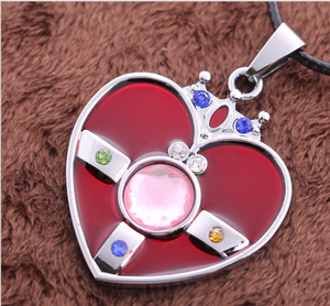 [Sailor Moon] Heart Brooch Necklace SP152761 - SpreePicky  - 2