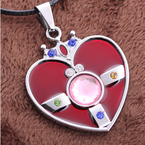 [Sailor Moon] Heart Brooch Necklace SP152761
