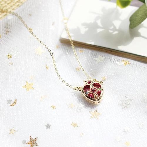 Sailor Moon Heart Crown Necklace SP1812622