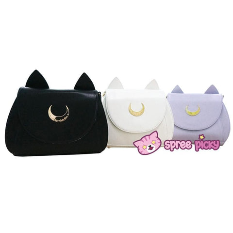 Sailor Moon Luna/Artemis/Dianna Big High Quality Shoulder Bag Top