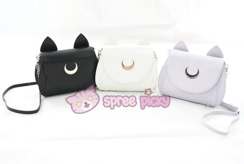 Sailor Moon Luna/Artemis/Dianna Big High Quality Shoulder Bag - SpreePicky  - 2