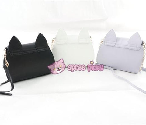 Sailor Moon Luna/Artemis/Dianna Big High Quality Shoulder Bag - SpreePicky  - 3