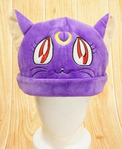 [Sailor Moon] Luna/Artemis Fleece Hat SP154062 - SpreePicky  - 4