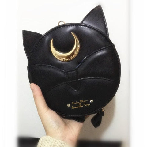 Sailor Moon Luna/Artemis Round Bag SP165937