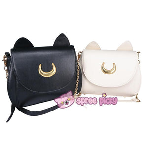 Sailor Moon Luna/Artemis Shoulder Bag SP152961 - SpreePicky  - 1