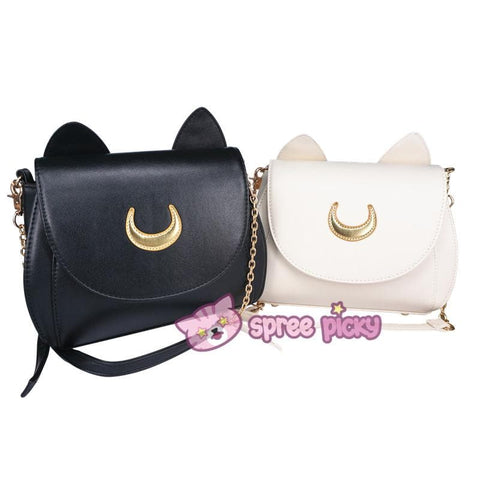 Fabric Moon-Sailor Moon Luna/Artemis Shoulder Bag SP152961