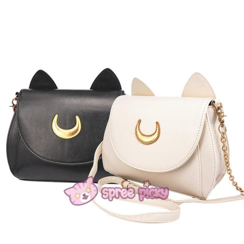 Sailor Moon Luna/Artemis Shoulder Bag SP152961 - SpreePicky  - 2