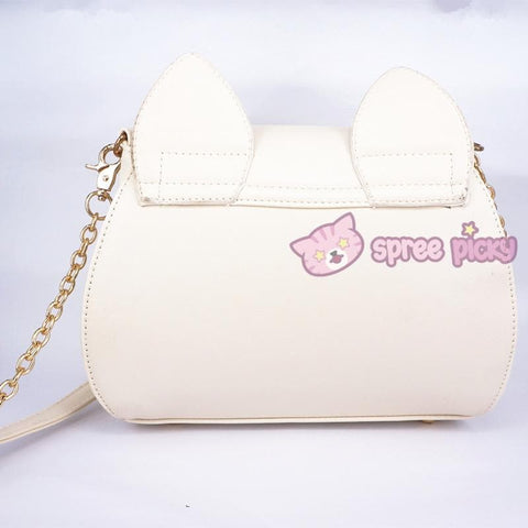 Sailor Moon Luna/Artemis Shoulder Bag SP152961 - SpreePicky  - 5