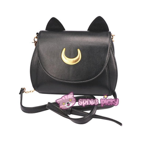 Sailor Moon Luna/Artemis Shoulder Bag SP152961 - SpreePicky  - 4