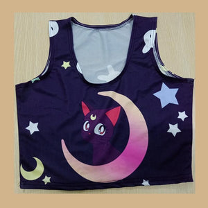Sailor Moon Luna Crop Top SP1812362